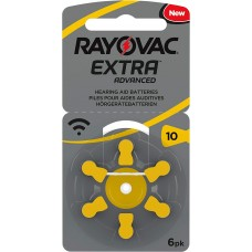 2 x Rayovac 10  EXTRA ADVANCED 6er + LR44