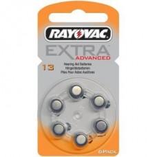 Rayovac 13  EXTRA ADVANCED (ZL2, PR48) Hörgeräteknopfzellen 1,4V 310mAh