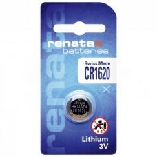 1 x Renata CR 1620 3V Lithium Batterie Knopfzelle 68mAh DL1620 im Blister