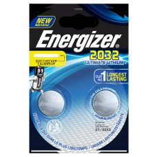 10x Energizer CR2032 3V Ultimate Lithium in 2er-Blister