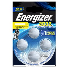 10x Energizer CR2032 3V Ultimate Lithium in 4er-Blister