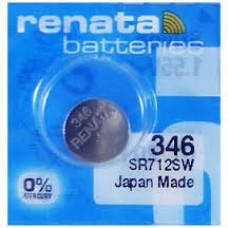 Renata 346.MP MF Uhrenknopfzelle in 10er-Blister