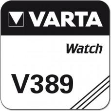 1 x Varta 389 + Cardiocell LR44