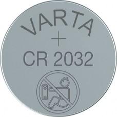 Varta CR2032 6032 101 401 3V Lithium in 1er-Blister 220mAh