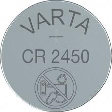Varta CR2450 (6450) 3V Lithium in 2er-Blister
