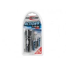 Ansmann Aluminiumtaschenlampe Action 9 LED 5016243