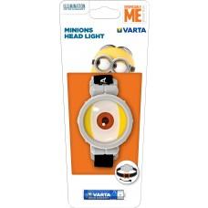 Taschenlampe Varta 15611  MINIONS Stirnleuchte 1xAAA