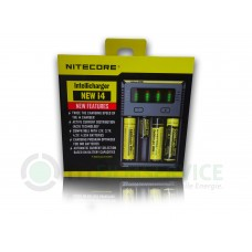 Nitecore Intellicharger NEW i4 4-Schacht Ladegerät