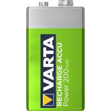 Varta 9V-Akku 56722 101 401 (200mAh) Ready2use 8,4V in 1er-Blister