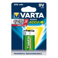 Varta 9V-Akku 56722 101 401 (200mAh) Ready2use 8,4V in 1er-Blister