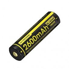 NiteCore NL1826R 2600mAh 18650 3,7V mit Micro-USB