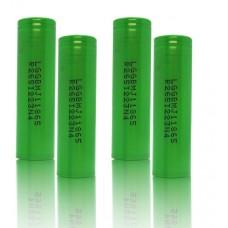 4 x LG INR18650MJ1 - 3500mAh 3,6V - 3,7V Lithium-Ionen-Akku