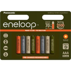 Eneloop Expedition BK-4MCCE/8EE Micro 750mAh 1,2V in 8er-Blister