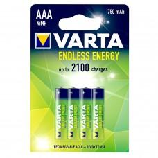 Varta Micro-Akku 56673 101 404 (750 mAh) Endless Energy in 4er Blister