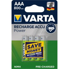 Varta Micro-Akku 56703 101 404 (800mAh) 1,2V Ready2use in 4er-Blister