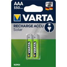 Varta Solar Micro-Akku 56733 101 402 (550mAh) 1,2V im 2er-Blister