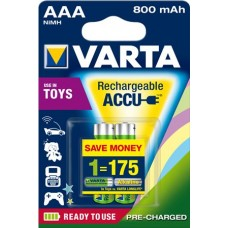 Varta Micro Akku 56783 101 402 (800mAh) Ready2use 1,2V in 2er-Blister