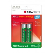 AGFAPHOTO Mignon-Akku Direct Energy NiMH 2100mAh in 2er-Blister
