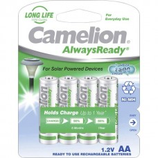 Camelion Mignon-Akku Always Ready Longlife 600mAh NiMH in 4er-Blister