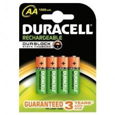 Duracell Mignon Recharge Plus Akku AA 1.300 mAh im 4er-Blister