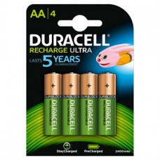 Duracell Mignon-Akku Recharge Ultra DX1500 (2500mAh) Precharged  in 4er-Blister