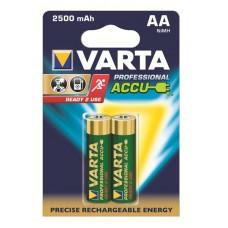 Varta 5716 101 402 Mignon PROFESSIONAL ACCU R2U (2600mAh) 1,2V in 2er-Blister