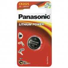 Panasonic CR2025 3V Lithium in 1er-Blister