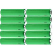 10 x Sony US18650VTC5 Lithium Ionen 18650 30A , 2600mAh einzeln
