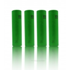 4x Sony US18650VTC5A Lithium Ionen 18650 35A 2600mAh incl. Cardiocell Box + Xtar D2